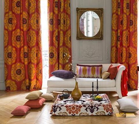 pose de rideaux et de voilages n mes. Black Bedroom Furniture Sets. Home Design Ideas